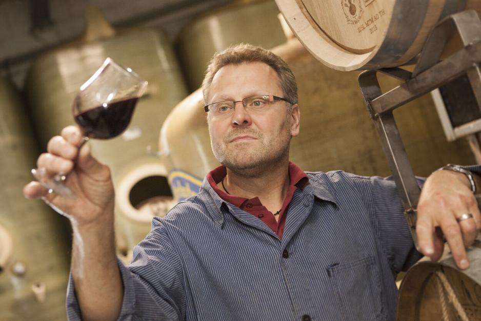 Weinverkostung Stefan Müsel